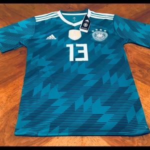 Adidas Muller Germany World Cup Away Jersey